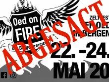 Zeltfest 2020 abgesagt